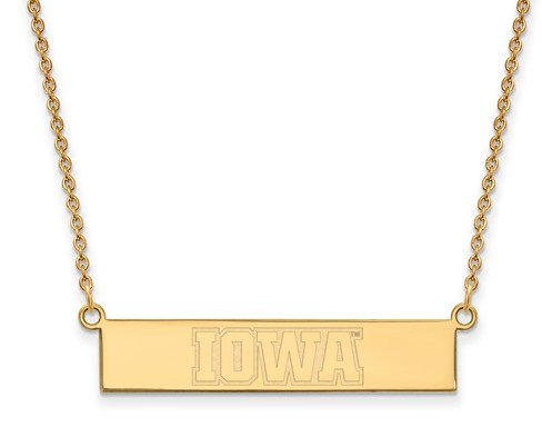 IOWA BAR NECKLACE