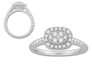 DIAMOND FASHION STYLE RING