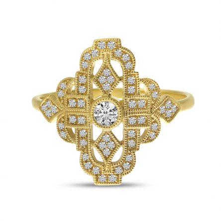ART DECO FASHION DIAMOND RING