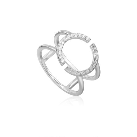 SPIKE DOUBLE RING