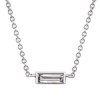DIAMOND BAGUETTE NECKLACE