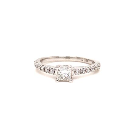 0.36ct Princess Cut Diamond Engagement Style Ring