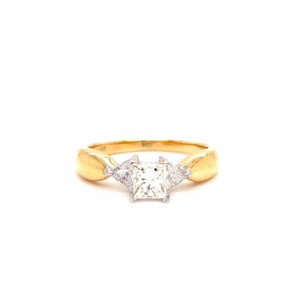 0.52ct Princess Cut Diamond Engagement Style Ring