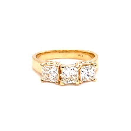 Three Stone Diamond Engagement Style Ring