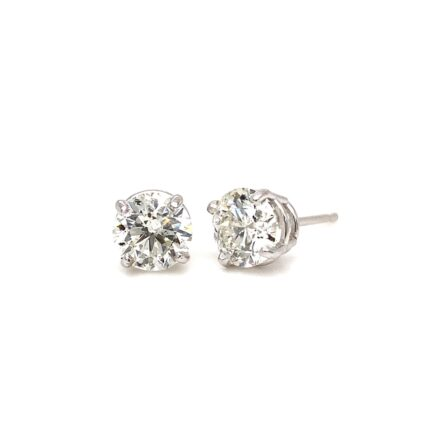 1.60CT TOTAL WEIGHT DIAMOND STUD EARRINGS