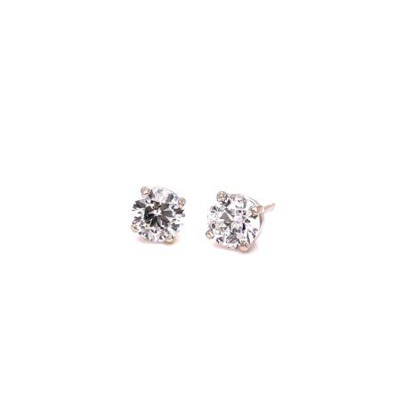 1.03CT TOTAL WEIGHT DIAMOND STUD EARRINGS