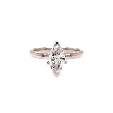 1.04ct Marquise Cut Diamond Solitaire Engagement Style Ring